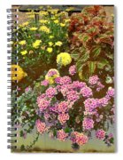 The Patio At Coffee O - Falmouth - Cape Cod - Massachusetts Spiral Notebook