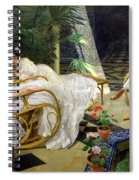 The Patio Spiral Notebook