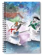The People From The Troodos Mountains Spiral Notebook
