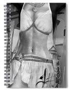 The Perfect Apron Monochrome Spiral Notebook