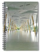 The Pick Up Point At Changi Airport In Singapore  Spiral Notebook