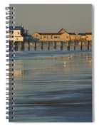 The Pier On Old Orchard Beach Spiral Notebook