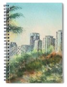 The Pike And Downtown Long Beach Spiral Notebook