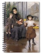 The Pinch Of Poverty Spiral Notebook