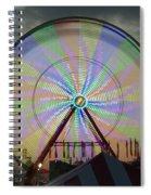The Pinwheel Glow Spiral Notebook