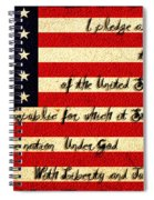 The Pledge Of Allegiance Spiral Notebook