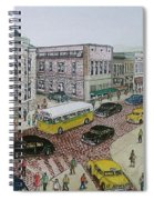 The Portsmouth Ohio Post Office On The Esplanade 1948 Spiral Notebook