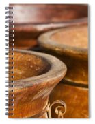 The Potters Terracotta Wares Spiral Notebook