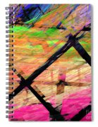 The Powers That Bind Us Square D Spiral Notebook
