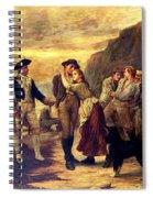 The Press Gang Spiral Notebook