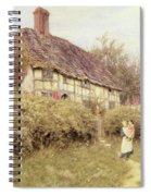 The Priest's House West Hoathly Spiral Notebook