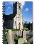 The Protestant Church, Delgany, Co Spiral Notebook