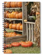 The Pumpkin Shack At Isom's Orchard Spiral Notebook