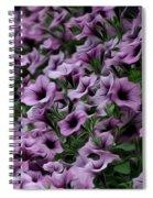 The Purple Sea Spiral Notebook
