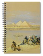 The Pyramids At Giza Near Cairo Spiral Notebook