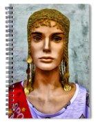 The Queen Of Bourbon Street Spiral Notebook