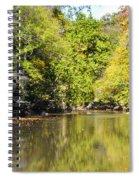 The Quiet Wissahickon Spiral Notebook