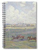 The Racecourse At Boulogne-sur-mer Spiral Notebook