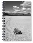 Death Valley California The Racetrack 2 Spiral Notebook
