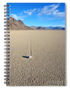 The Racetrack Playa Spiral Notebook