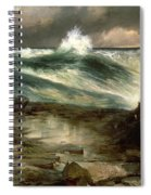 The Rapids Above Niagara Spiral Notebook