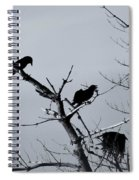 The Raven Tree Spiral Notebook