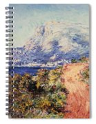The Red Road Near Menton Spiral Notebook