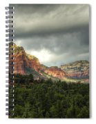 The Red Rocks Of Sedona  Spiral Notebook