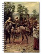 The Relief Of Ladysmith On 27th February 1900 Spiral Notebook