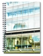 The Restaurant With A View Of St Pauls Cathedral Spiral Notebook