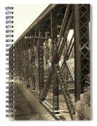 The Retired Railroad Bridge Spiral Notebook