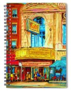 The Rialto Theatre Spiral Notebook