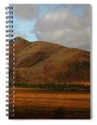 The Richardson Mountains At The Arctic Spiral Notebook