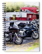 The Riverside Barr And Grill - Easton Pa Spiral Notebook