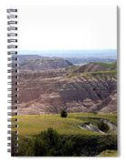 The Road Is Long Spiral Notebook