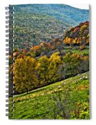 The Road To Glady Wv Painted Spiral Notebook