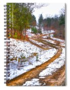 The Road To Spring Spiral Notebook