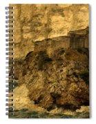 The Rock In Dubrovnik Spiral Notebook