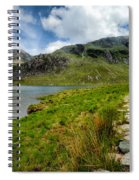 The Rocky Path Spiral Notebook