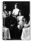 The Romanovs, Russian Tsar With Family Spiral Notebook