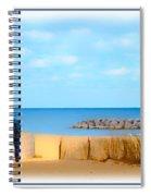 The Romantic Beach Spiral Notebook