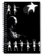 The Rory Rockettes Spiral Notebook