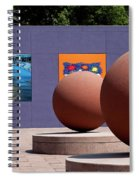 The Rounds Of Pershing Square Spiral Notebook