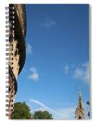 The Royal Albert Hall And Albert Memorial Spiral Notebook