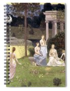 The Sacred Wood Cherished By The Arts And The Muses Spiral Notebook