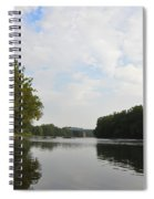 The Schuylkill River At West Conshohocken Spiral Notebook