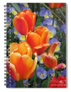 The Secret Life Of Tulips - 2 Spiral Notebook