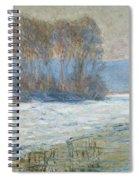 The Seine At Bennecourt Spiral Notebook