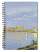 The Seine At Bougival Spiral Notebook