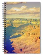 The Shadows In The Canyon Spiral Notebook